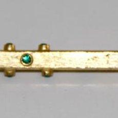 Bolígrafos antiguos: BOLÍGRAFO. METAL DORADO Y STRASS. ESPAÑA. PRINC. S. XX. Lote 79881205