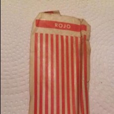 Bolígrafos antiguos: RECAMBIO ROJO REYNOLDS REY DE LOS BOLIGRAFOS. Lote 80673070