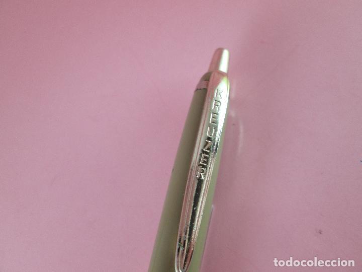 Bolígrafos antiguos: 7563-bolígrafo-kreuzer-germany-castaño+dorados-buen estado general-ver fotos. - Foto 8 - 83059660