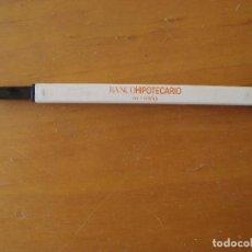 Bolígrafos antiguos: BOLIGRAFO BANCO HIPOTECARIO DE ESPAÑA. Lote 86166078
