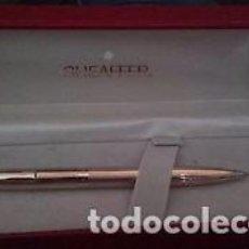 Bolígrafos antiguos: BOLIGRAFO SHEAFFER GOLD ELECTROPLATED 270 FINE. Lote 88935608