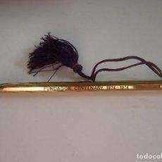 Bolígrafos antiguos: PEQUEÑO BOLIGRAFO SCRIPTO - 11X0,5 - INSCRIPCION FUNDADOR CENTENARY 1874-1974. Lote 89485528