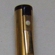 Bolígrafos antiguos: BOLIGRAFO SHEAFFER CHAPADO EN ORO. Lote 90211428