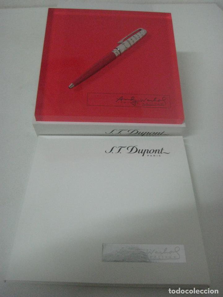 Bolígrafos antiguos: ST Dupont: Andy Warhol Elvis Presley Mini Bolígrafo, Edición Limitada y numerada 0242/1964, nuevo - Foto 2 - 90424919