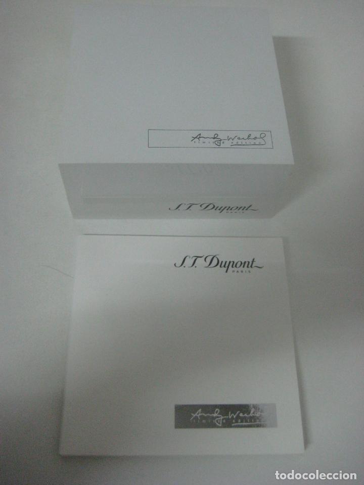 Bolígrafos antiguos: ST Dupont: Andy Warhol Elvis Presley Mini Bolígrafo, Edición Limitada y numerada 0242/1964, nuevo - Foto 6 - 90424919