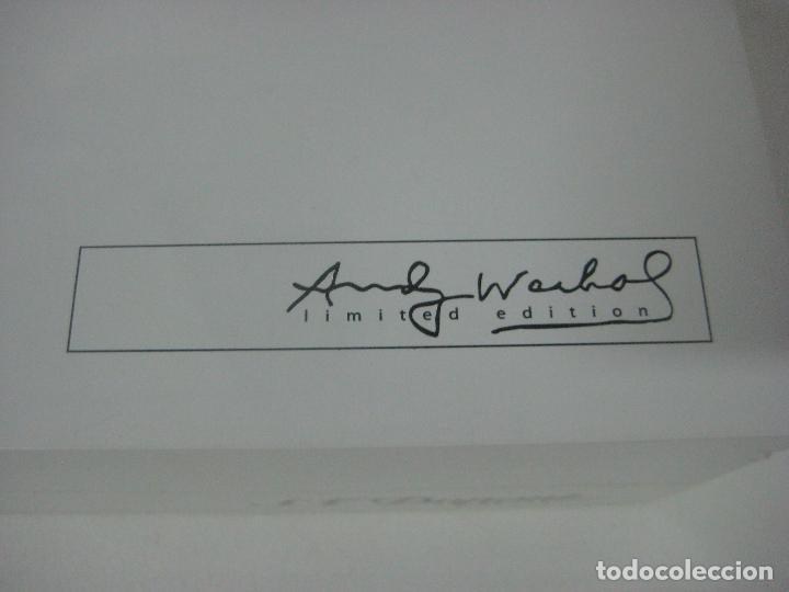 Bolígrafos antiguos: ST Dupont: Andy Warhol Elvis Presley Mini Bolígrafo, Edición Limitada y numerada 0242/1964, nuevo - Foto 12 - 90424919