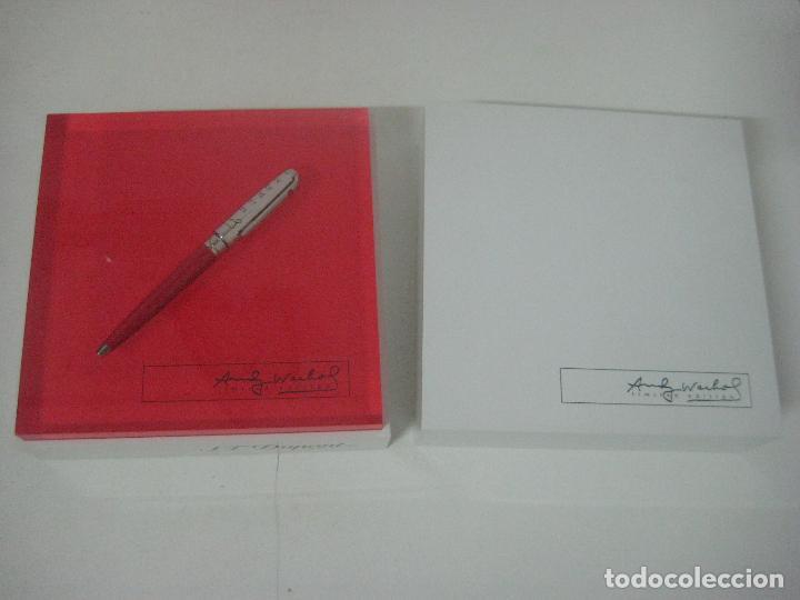 Bolígrafos antiguos: ST Dupont: Andy Warhol Elvis Presley Mini Bolígrafo, Edición Limitada y numerada 0242/1964, nuevo - Foto 13 - 90424919