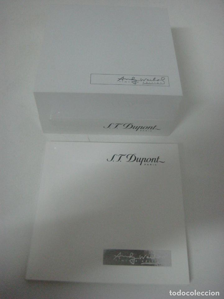 Bolígrafos antiguos: ST Dupont: Andy Warhol Elvis Presley Mini Bolígrafo, Edición Limitada y numerada 0242/1964, nuevo - Foto 16 - 90424919