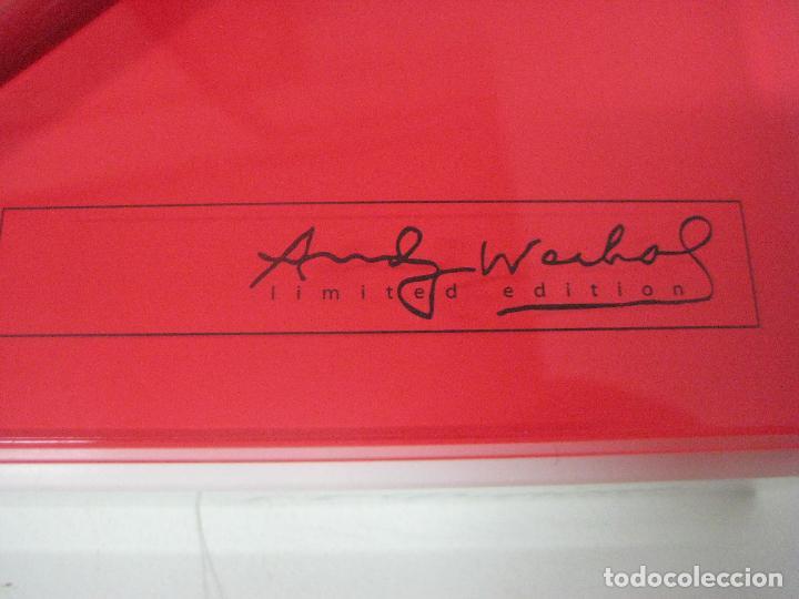 Bolígrafos antiguos: ST Dupont: Andy Warhol Elvis Presley Mini Bolígrafo, Edición Limitada y numerada 0242/1964, nuevo - Foto 20 - 90424919
