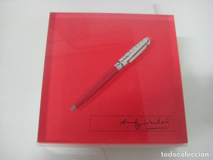 Bolígrafos antiguos: ST Dupont: Andy Warhol Elvis Presley Mini Bolígrafo, Edición Limitada y numerada 0242/1964, nuevo - Foto 22 - 90424919