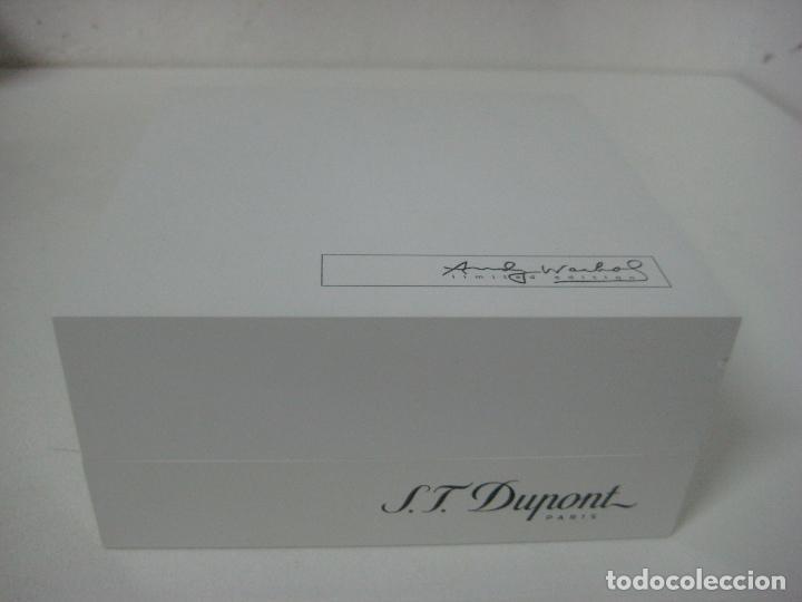 Bolígrafos antiguos: ST Dupont: Andy Warhol Elvis Presley Mini Bolígrafo, Edición Limitada y numerada 0242/1964, nuevo - Foto 23 - 90424919