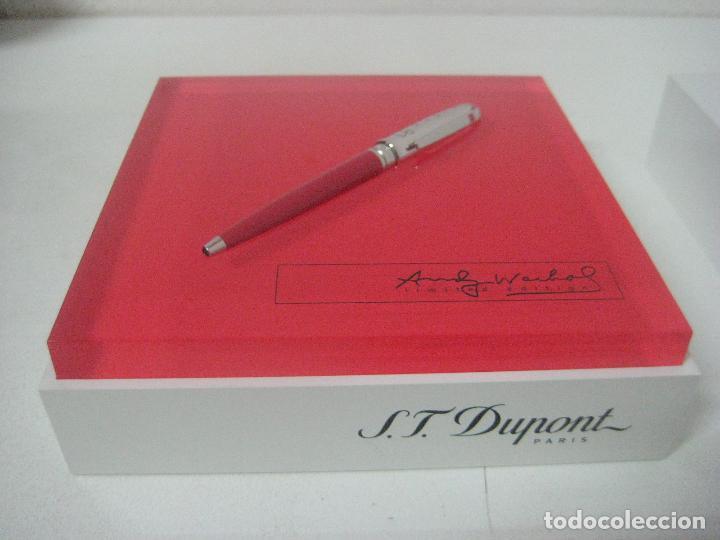 Bolígrafos antiguos: ST Dupont: Andy Warhol Elvis Presley Mini Bolígrafo, Edición Limitada y numerada 0242/1964, nuevo - Foto 25 - 90424919