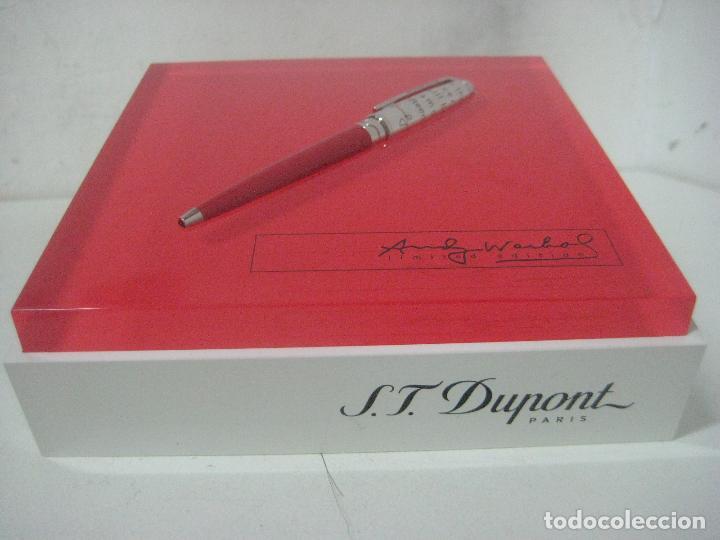 Bolígrafos antiguos: ST Dupont: Andy Warhol Elvis Presley Mini Bolígrafo, Edición Limitada y numerada 0242/1964, nuevo - Foto 27 - 90424919