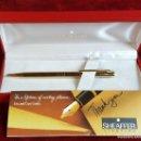 Bolígrafos antiguos: BOLIGRAFO SHEAFFER. METAL CHAPADO EN ORO. GOLD ELECTROPLATED. CIRCA 1960. . Lote 90978855