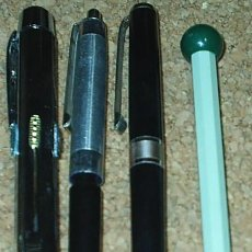 Bolígrafos antiguos: BOLIGRAFOS ORIGINALES ANTIGUOS, LOTE DE 4 , AÑOS 60/70, OCASIÓN ¡¡. Lote 91352055