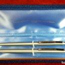 Bolígrafos antiguos: PAREJA DE BOLIGRAFOS INOXCROM. MODELO 2000. METAL CROMADO. CIRCA 1970. . Lote 92818475