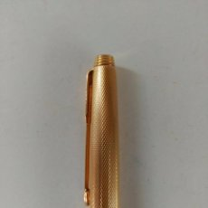 Bolígrafos antiguos: BOLÍGRAFO PARKER 20 MICRAS CHAPADO ORO. MADE IN FRANCE. FUNCIONA. Lote 99942667