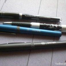 Bolígrafos antiguos: LOTE BOLIGRAFOS ABOGADOS. Lote 101131151