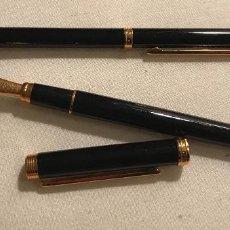 Bolígrafos antiguos: CONJUNTO BOLÍGRAFO Y ESTILOGRÁFICA INOXCROM - 1589. Lote 101559003