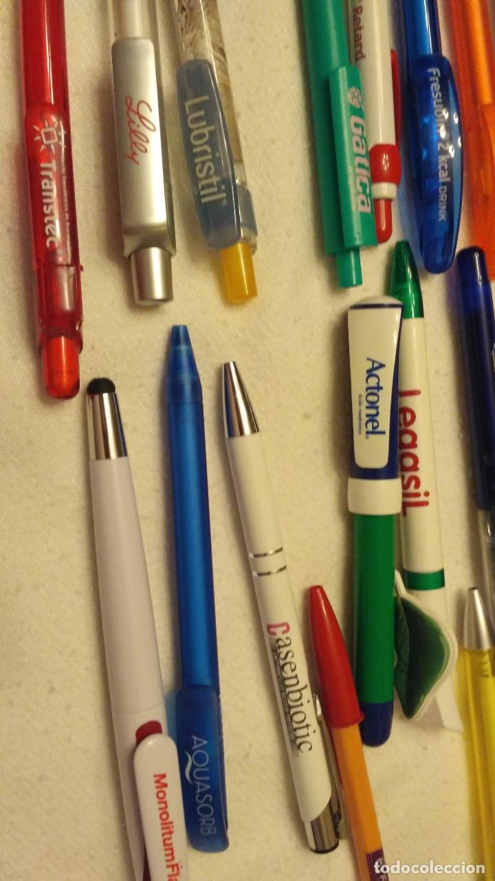 Bolígrafos antiguos: Lote de 94 bolígrafos de medicamentos - Foto 3 - 170856987