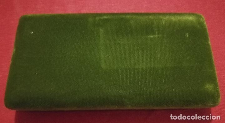 Bolígrafos antiguos: CONJUNTO DE BOLIGRAFO Y PORTAMINAS SUPER T 100 PLATA DE LEY * - Foto 9 - 106384763