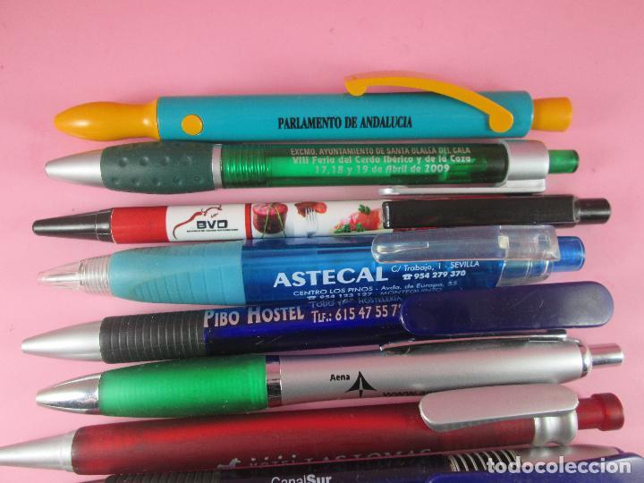 Bolígrafos antiguos: lote 10 bolígrafos-publicidad diversa-la mayoría de andalucía-buen estado-ver fotos - Foto 5 - 107048767