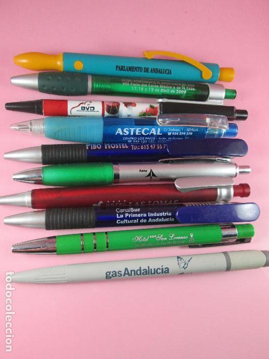 Bolígrafos antiguos: lote 10 bolígrafos-publicidad diversa-la mayoría de andalucía-buen estado-ver fotos - Foto 6 - 107048767