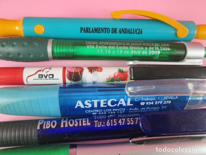 Bolígrafos antiguos: lote 10 bolígrafos-publicidad diversa-la mayoría de andalucía-buen estado-ver fotos - Foto 10 - 107048767