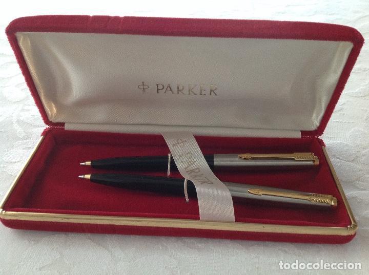Bolígrafos antiguos: 2 bolígrafos Parker !!! Nuevos !!! - Foto 6 - 107265731