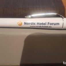 Bolígrafos antiguos: BOLIGTAFO HOTELES NÓRDIC FORUM. Lote 109468255