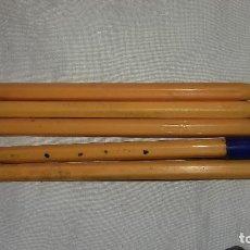 Alte Kugelschreiber - 4 boligrafos naranja fina de bic.usado sin tinta .años 80 - 110029399