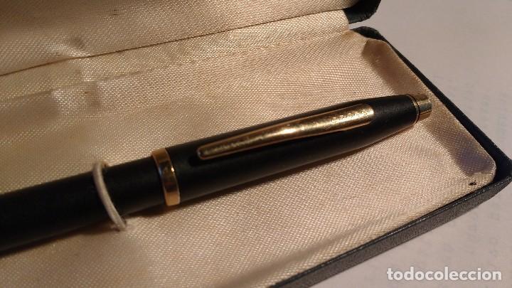 Bolígrafos antiguos: Portaminas Cross Classic Century Black - Foto 6 - 111205331