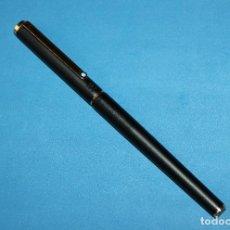 Bolígrafos antiguos: BOLIGRAFO MONTBLANC SLIMLINE BLACK. Lote 111990935