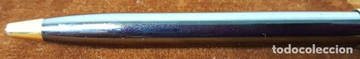 Bolígrafos antiguos: BOLIGRAFO WATERMAN. MADE IN FRANCE. METAL LACADO EN NEGRO. CIRCA 1970. - Foto 4 - 112320487