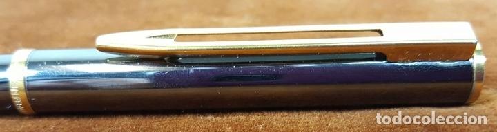 Bolígrafos antiguos: BOLIGRAFO WATERMAN. MADE IN FRANCE. METAL LACADO EN NEGRO. CIRCA 1970. - Foto 6 - 112320487