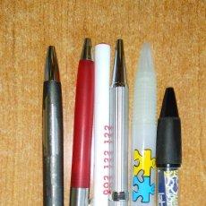 Bolígrafos antiguos: LOTE 6 BOLÍGRAFOS. Lote 113330455