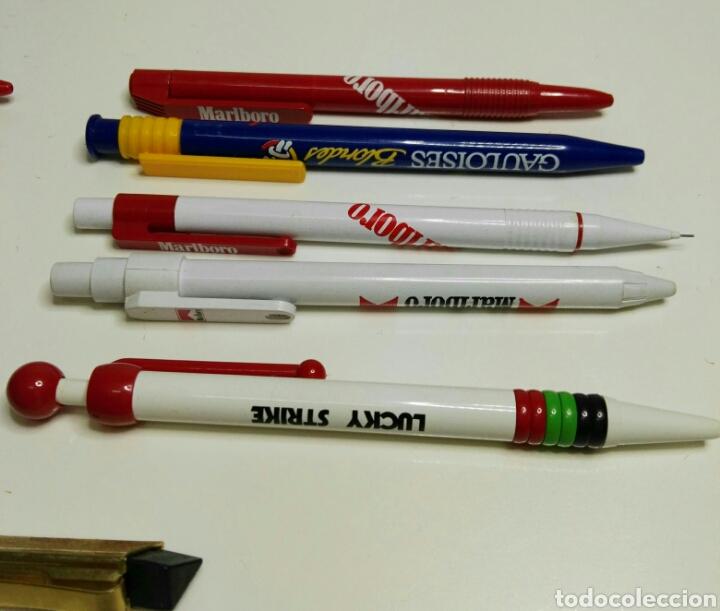 Bolígrafos antiguos: Lote bolígrafos años 70/80 tabaco, publicidad - Foto 14 - 113687360
