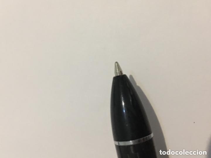 Bolígrafos antiguos: BOLIGRAFO ZOPPINI ,FIBRA DE CARBONO Y MOTIVOS CHAPADOS MUY ELEGANTE - Foto 6 - 114448807