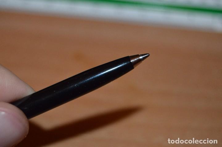 Bolígrafos antiguos: ANTIGUO - VINTAGE - BOLÍGRAFO SHEAFFER 440 - USA - ACERO CEPILLADO Y NEGRO - FUNCIONA - HAZ OFERTA - Foto 9 - 151655088