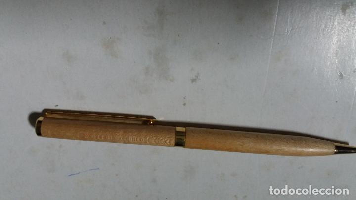 Bolígrafos antiguos: boligrafo de madera - Foto 2 - 114689807