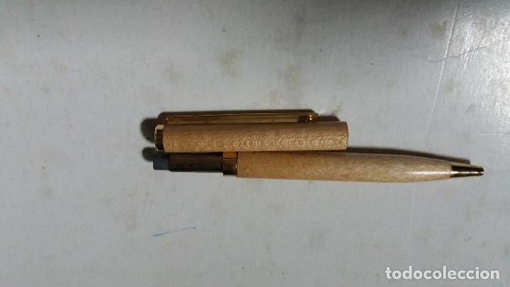 Bolígrafos antiguos: boligrafo de madera - Foto 3 - 114689807