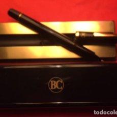 Bolígrafos antiguos: ANTIGUO BOLÍGRAFO BANCO CENTRAL EN SU CAJA , FUNCIONA AÑOS 70. Lote 115551327