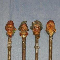 Bolígrafos antiguos: LOTE DE 4 ANTIGUOS BOLIGRAFOS. Lote 116373071