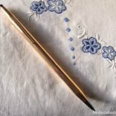 Bolígrafos antiguos: CROSS ORO 14K,BOLIGRAFO DE COLECCIÓN . Lote 116795339