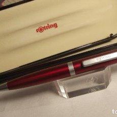 Bolígrafos antiguos: BOLIGRAFO ROTRING FREEWAY BP RUBI . Lote 118585331