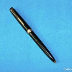 Bolígrafos antiguos: BOLIGRAFO MONTBLANC 18 MECANISMO EN EL CLIP. Lote 121498883