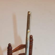 Bolígrafos antiguos: ANTIGUO BOLÍGRAFO DELTA. ITALY. INFORMACIÓN.. Lote 117862243