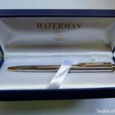 Bolígrafos antiguos: BOLÍGRAFO WATERMAN PARIS EN SU ESTUCHE. Lote 132367470