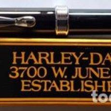 Bolígrafos antiguos: AUTENCTICO BOLIGRAFO HARLEY - DAVIDSON , 3700 W . JUNEAU AVENUE ESTABLISHED IN 1903 - NUEVO -. Lote 133873294