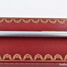 Bolígrafos antiguos: BOLIGRAFO CARTIER SANTOS COMO NUEVO. Lote 133906550